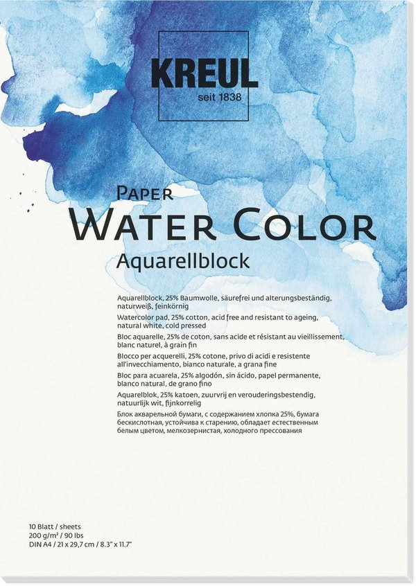 KREUL Paper Water Color 200 g/m²