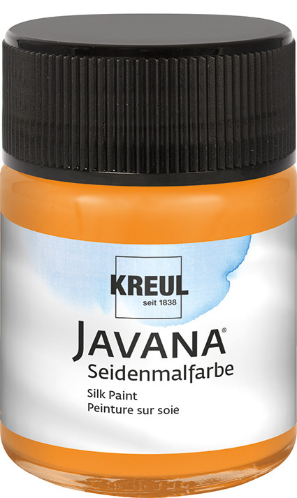 JAVANA Seidenmalfarbe Orange 50ml