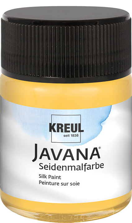 JAVANA Seidenmalfarbe Goldgelb 50ml