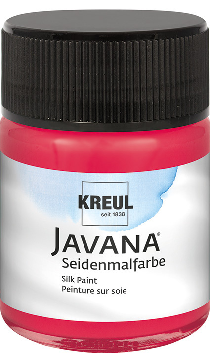 JAVANA Seidenmalfarbe Cherry 50 ml