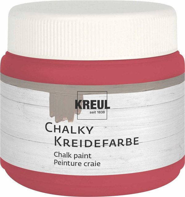 Kreidefarbe - Cozy Red 150ml