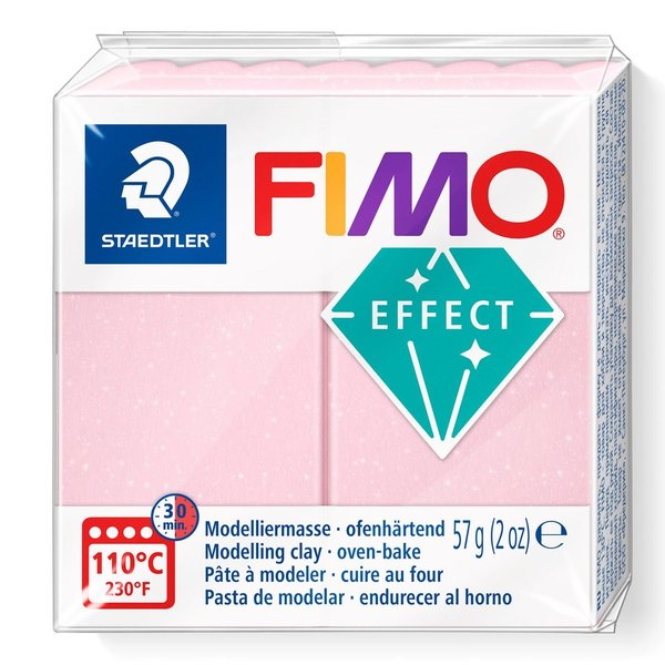 Fimo Effekt Rose Quarz