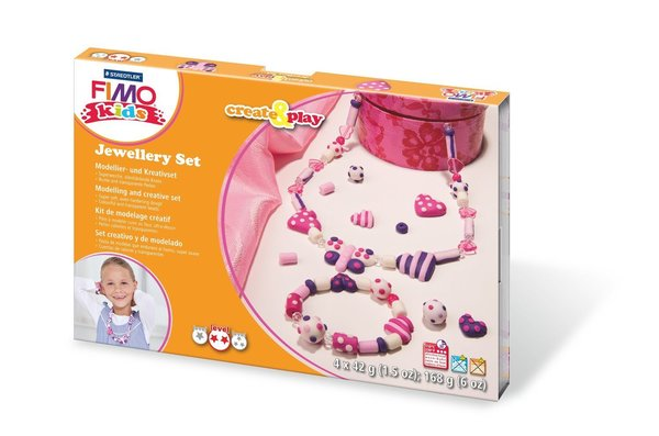 Fimo Kids Create & Play - Schmuck Hearts